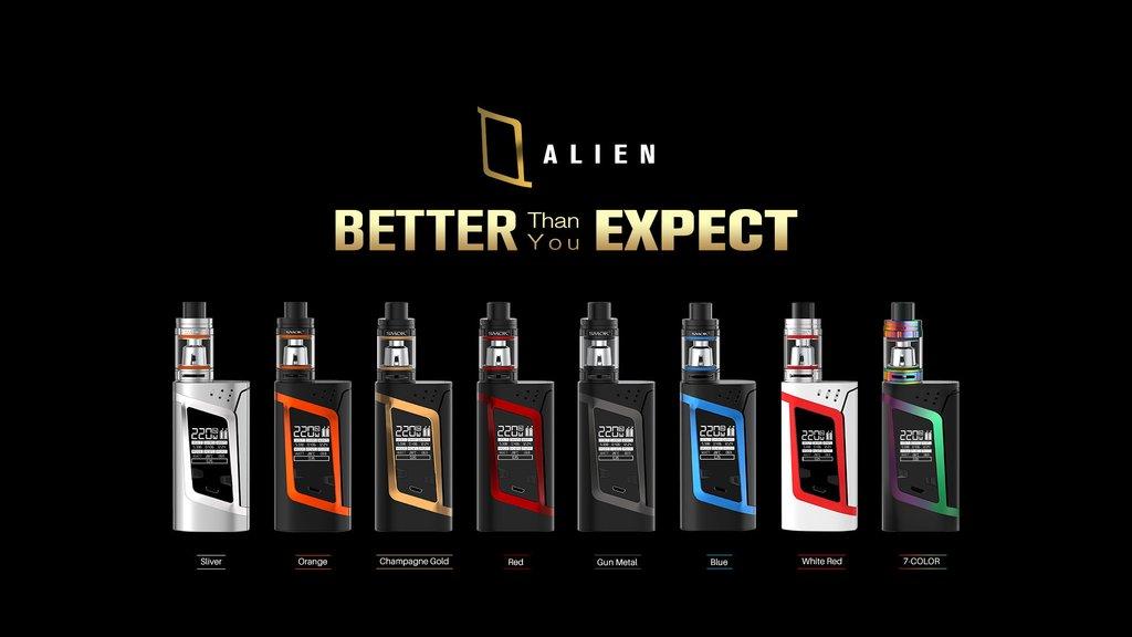 Recensione Smok Alien 220 Watt