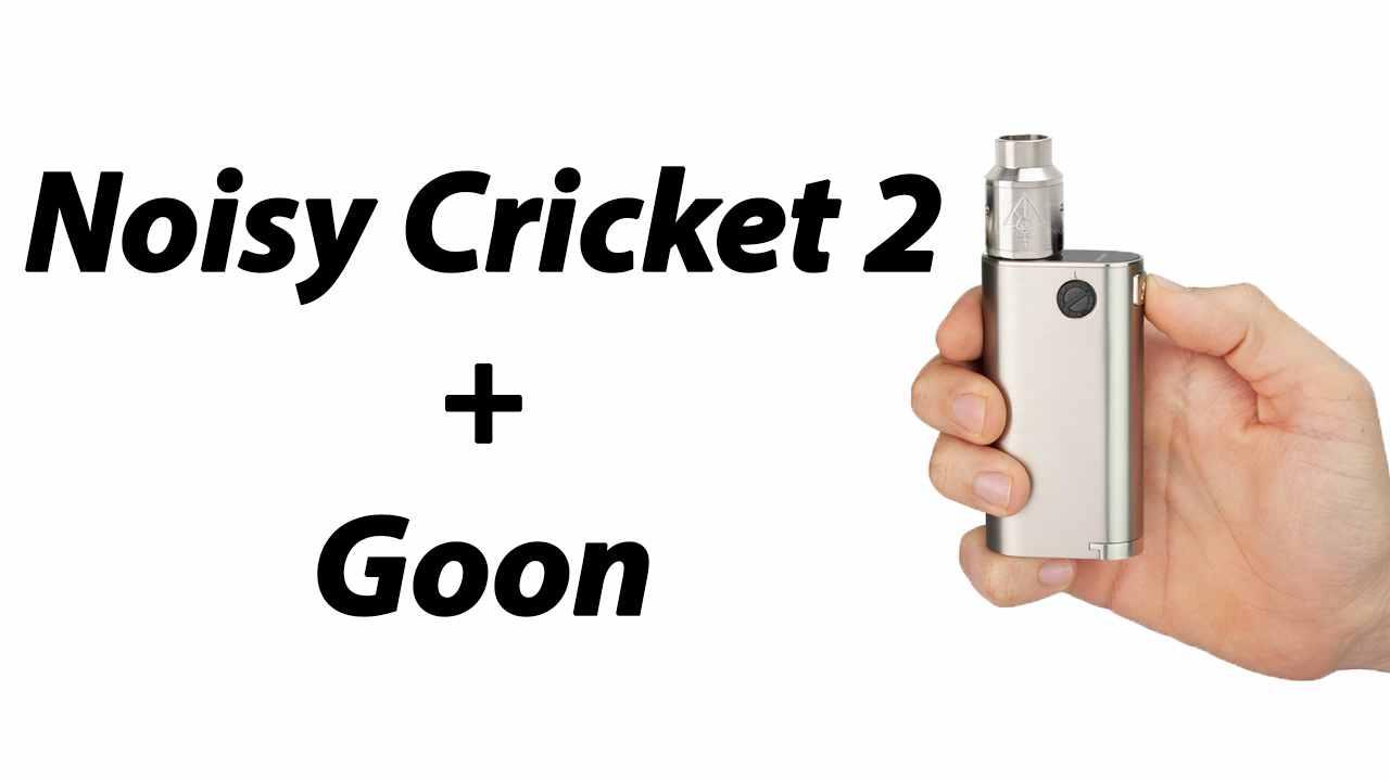 Wismec Noisy Cricket II + Goon | Potenza Pura