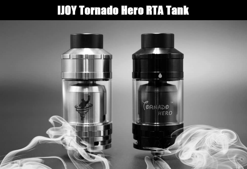 Atomizzatore Ijoy Tornado Hero